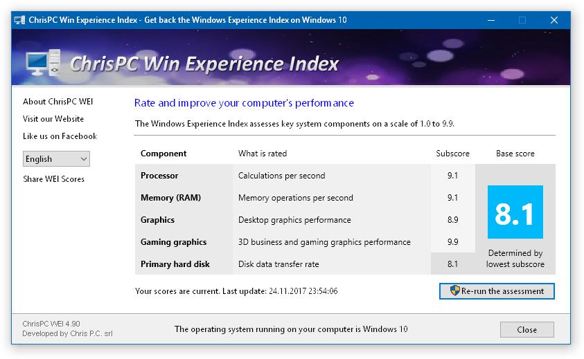 Win Experience Index 6.06.05 [Ingles] [UL.IO] Windows-Experience-Index-on-Windows-10