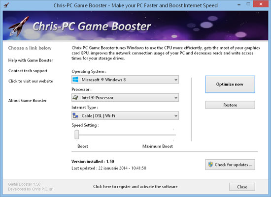 internet speed booster for windows 7